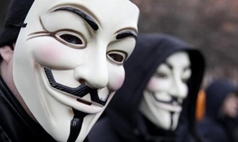 Anonymous dijo que su compañeros arrestados pertenecen a un grupo español de hackers llamado Troy. (Foto: Reuters)