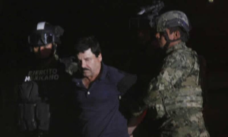 El capo regresará al penal de donde se fugó en julio de 2015