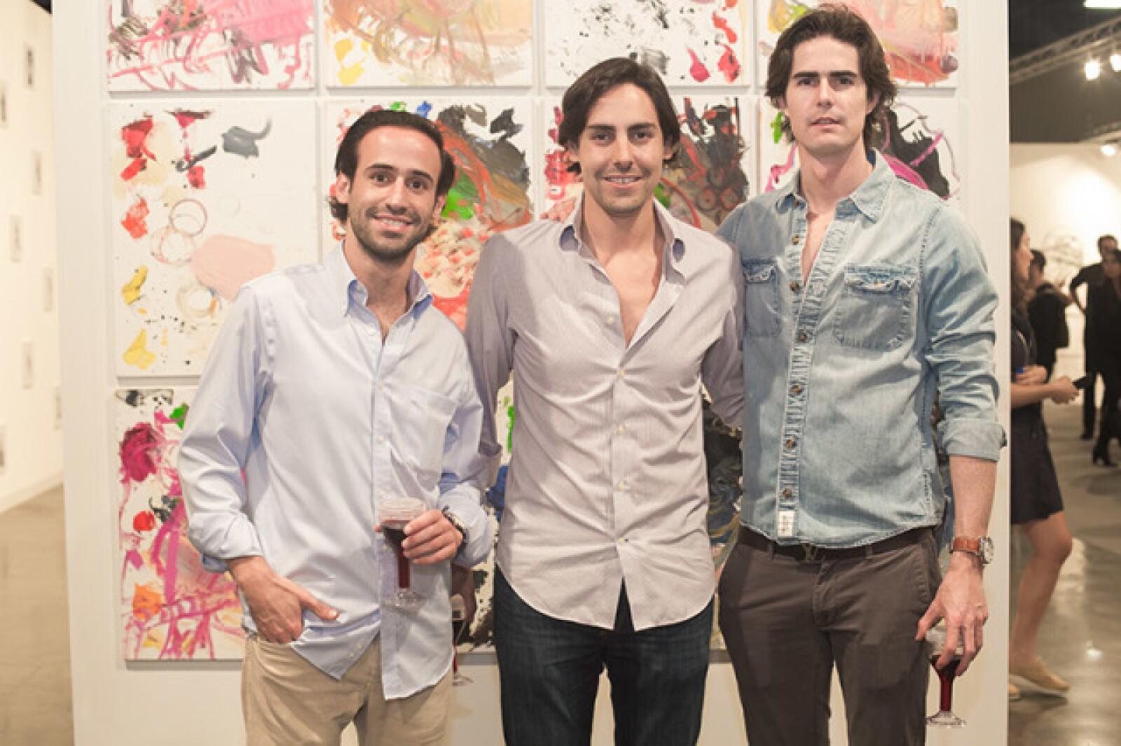 José Alonso,Héctor Quevedo y Alejandro García