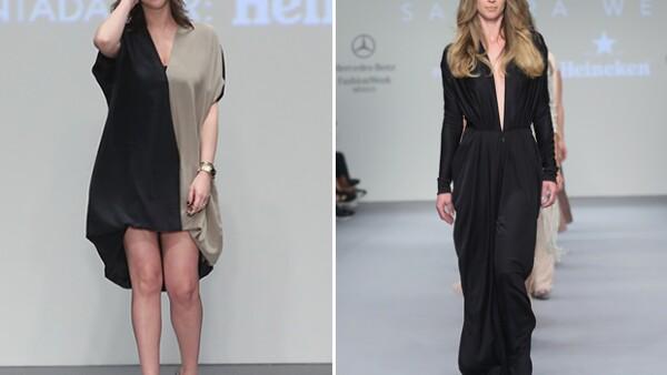 El encaje y las lentejuelas reinaron en la colección primavera verano 2016 de la diseñadora peruana en el primer día de Mercedes Benz Fashion Week.
