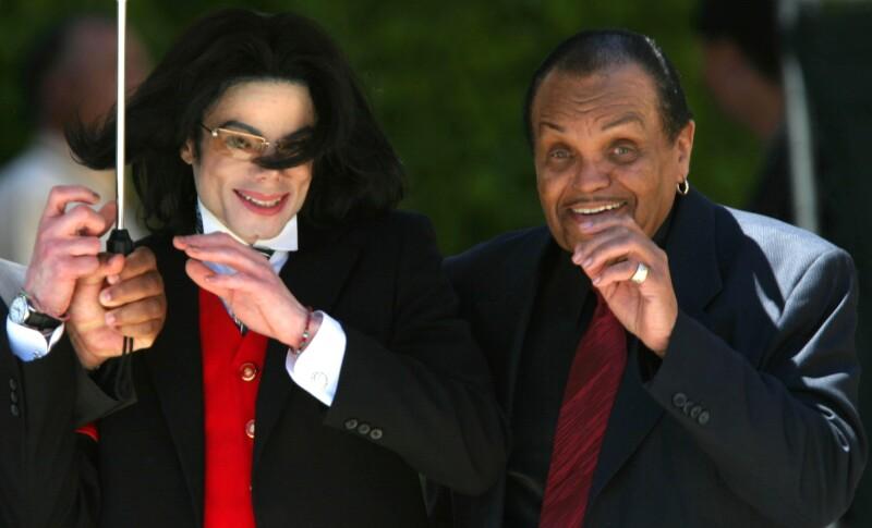 Joe Jackson y Michael Jackson