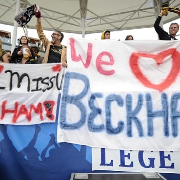 David Beckham despedida 8