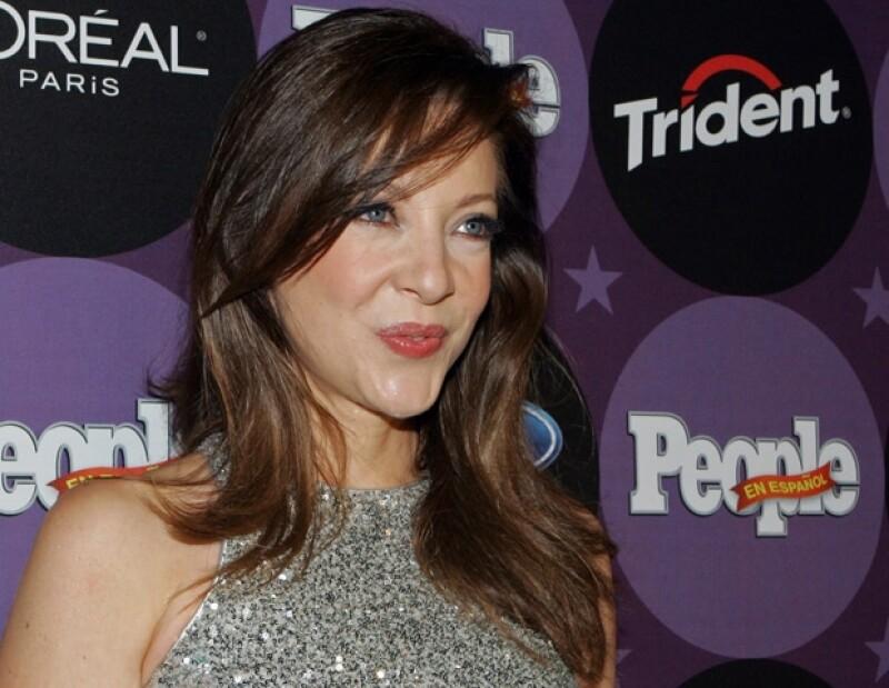 Edith González tuvo gran éxito con la telenovela Cielo Rojo.