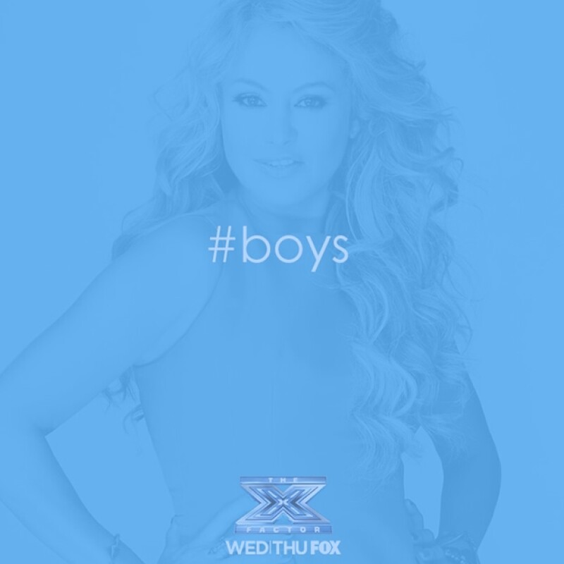 """La cantante ha sido nombrada mentora oficial de la categoría masculina en """"The X Factor""""."""