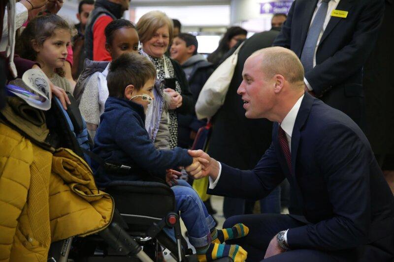 William en el Evelina London Children's Hospital