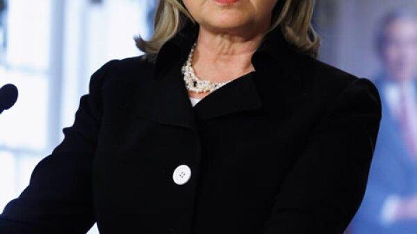 Hilary Clinton, filántropa en el número 5 con 65 años.