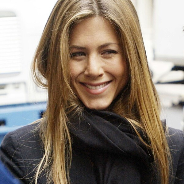Jennifer Aniston Films In New York