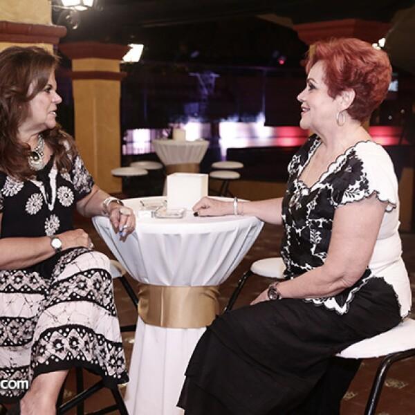 María Luisa Morales y Dora Sahagún
