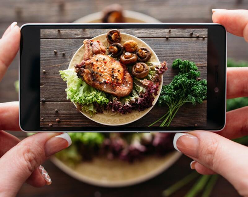 Deja de tomar fotos a tu comida