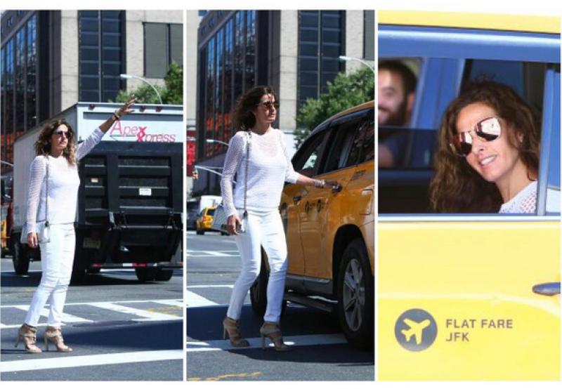 Paola Saad disfrutando de NYC.