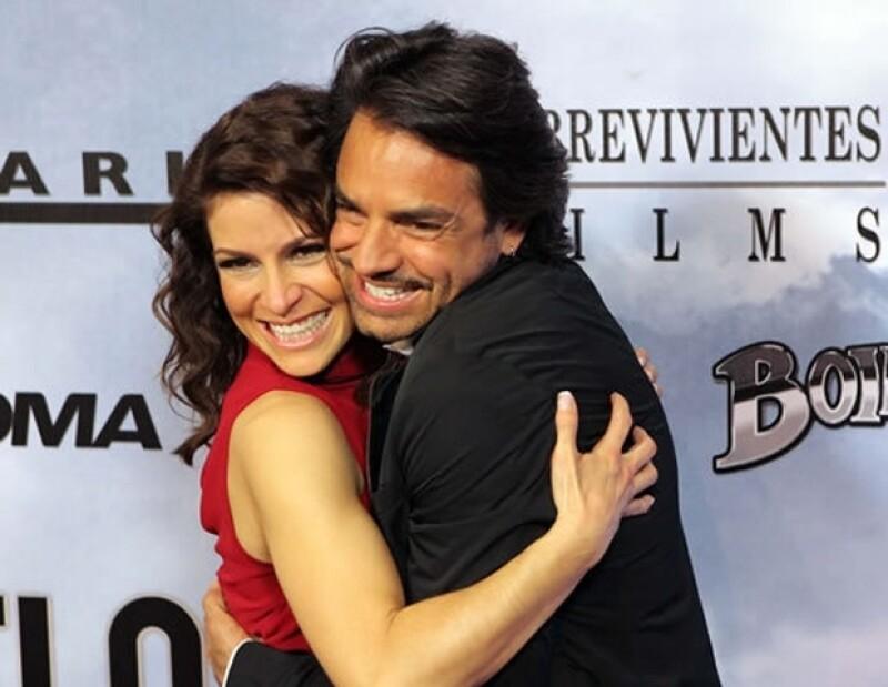 La cantante aseguró con una gran sonrisa que Eugenio es el amor de su vida.