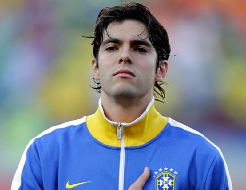 Kaká comenzó su carrera en Sao Paulo a la edad de ocho años.