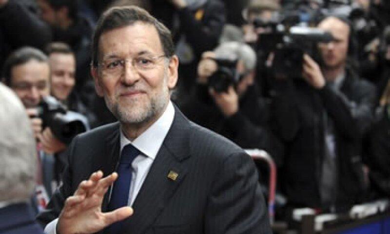 Mariano Rajoy, presidente del Gobierno español, dijo que aún no ha comunicado el nuevo objetivo de déficit a los líderes europeos. (Foto: Reuters)