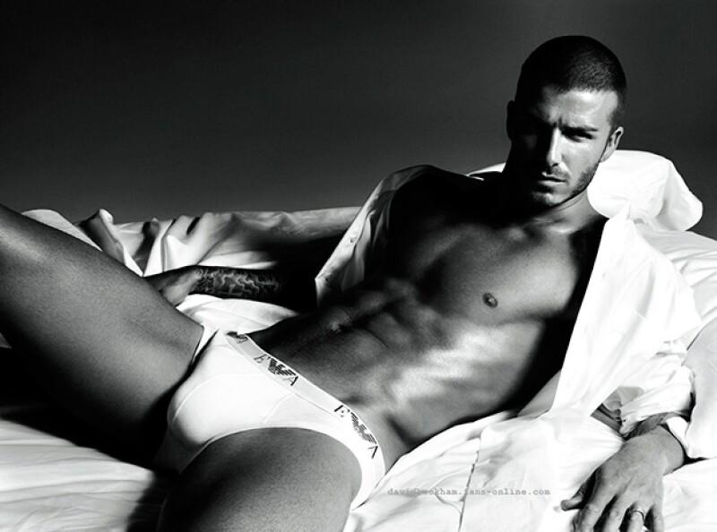 David es reconocido por su sexy figura y su innegable masculinidad.