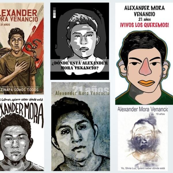 Alexander Mora Ayotzinapa