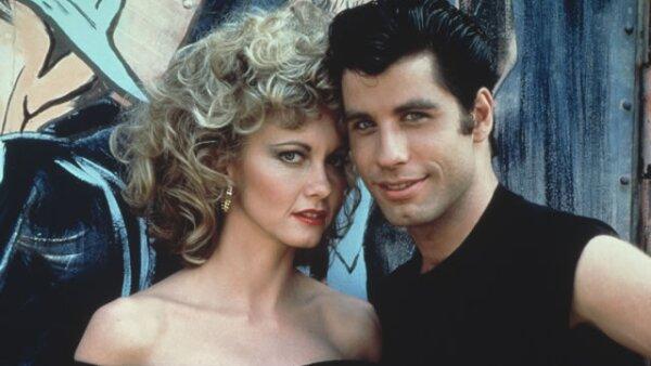 La famosa actriz de `Vaselina´cumple el día de hoy 64 años. Aquí con John Travolta en 1978.