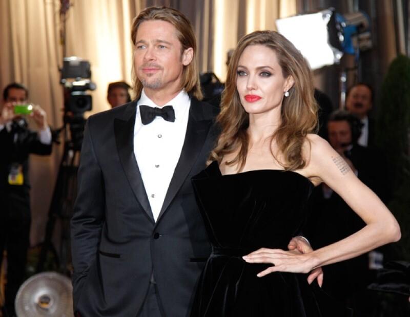Brad Pitt y Angelina Jolie se casarán, según confirmó la publicista de la pareja.