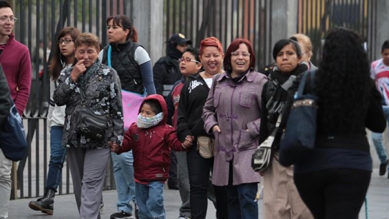 frío Ciudad de México