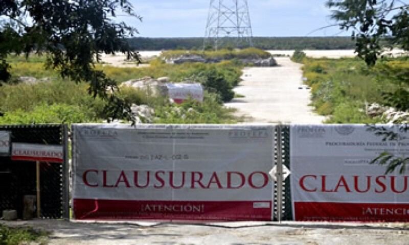 El proyecto también ha enfrentado la oposición de autoridades federales y cúpulas empresariales. (Foto: Cuartoscuro)