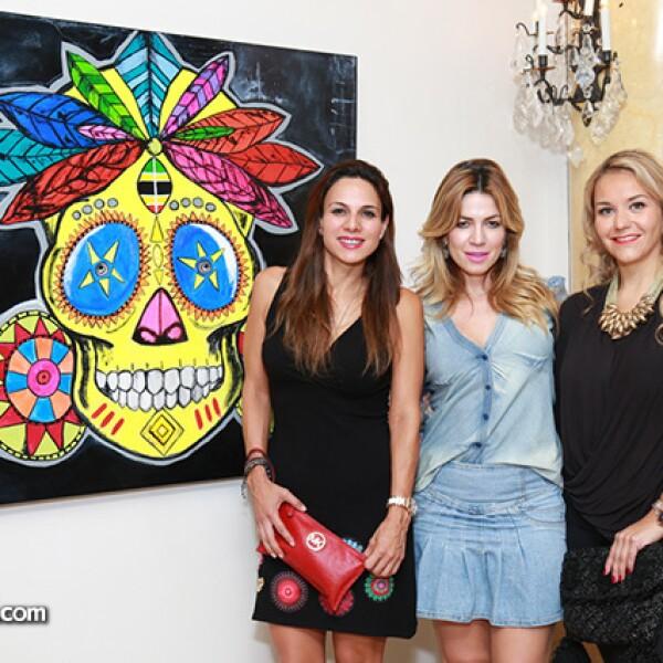 Cristina Villarreal,Cristina Llaguno y,Claudia Tinoco