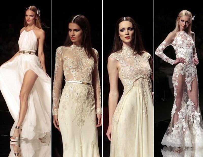 La semana pasada se llevó a cabo Bridal Fashion Week en Barcelona, con las mejores propuestas para las futuras novias de la primavera-verano 2015. Aquí les tenemos las mejores tendencias.
