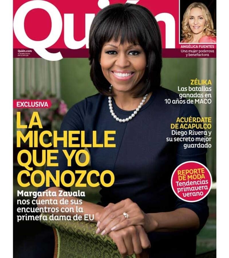Además de ser esposas de mandatarios   tienen muchas otras cosas en común. En Exclusiva la ex Primera Dama de México habla sobre la esposa del presidente de Estados Unidos.