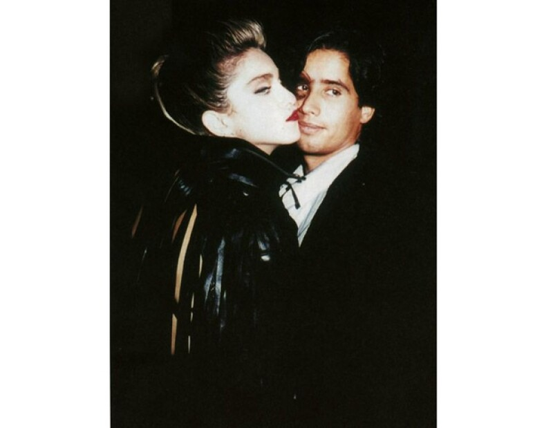 John Benitez y Madonna en 1982.