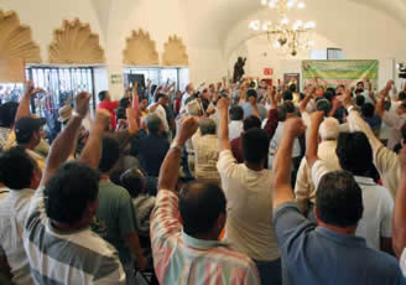 El sindicalismo mexicano forma parte del diseño del Estado, de ahí su peso, opina el autor. (Foto: Notimex)