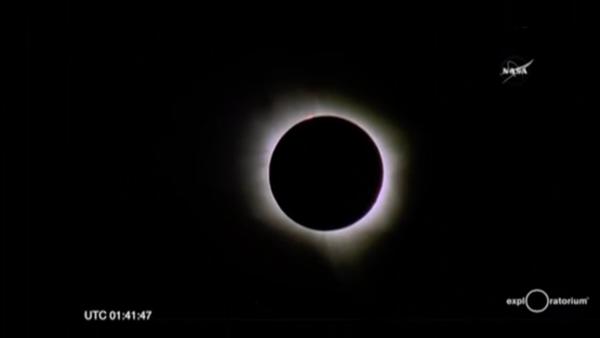 """Para la NASA, el eclipse de este lunes es una """"coincidencia celestial"""""""