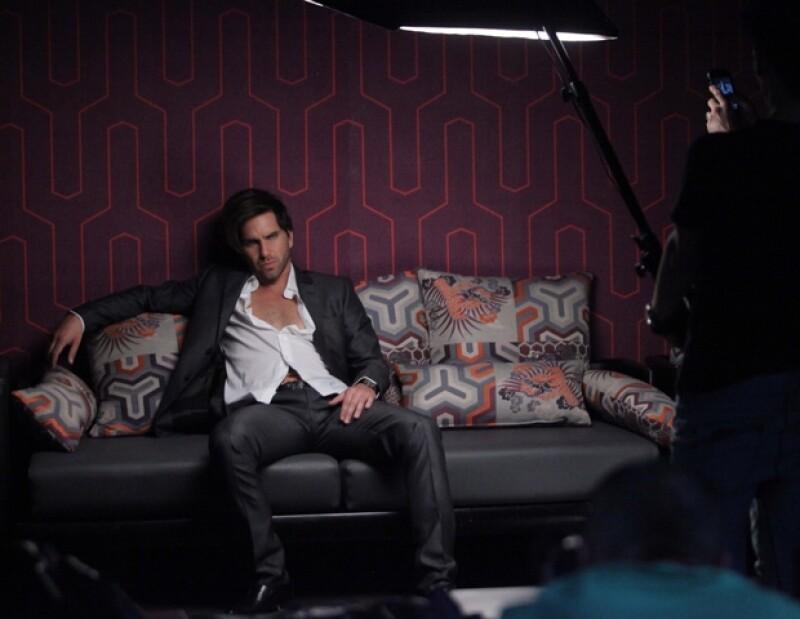 El actor tuvo gran éxito en la telenovela El Octavo Mandamiento.