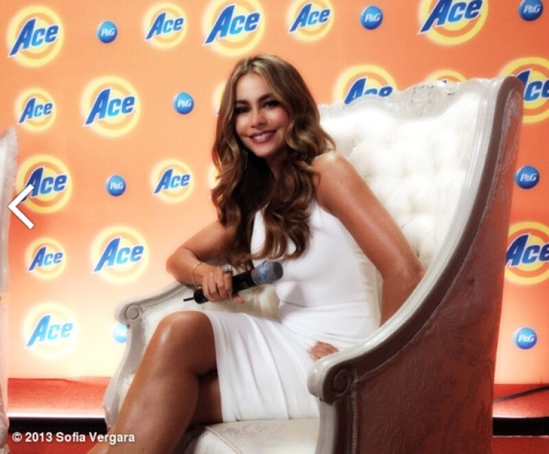 En su reunión de hoy con la prensa mexicana la actriz y modelo colombiana Sofía Vergara no permitió preguntas ajenas a la campaña publicitaria de un detergente de la cual es su nueva embajadora.