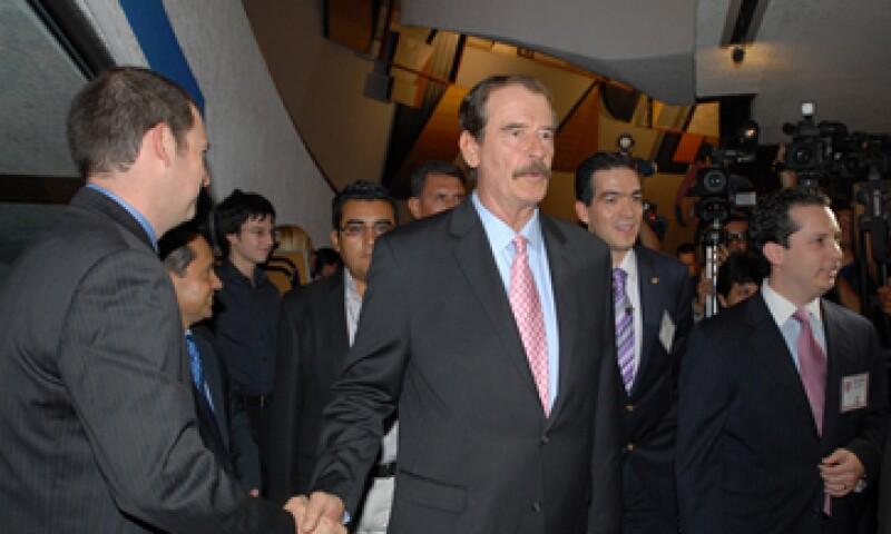 En una entrevista con El País, el ex presidente Fox criticó la gestión de Vicente Calderón. (Foto: Notimex)