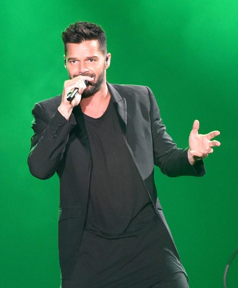 Para el cantante su prioridad son sus hijos, pero también conseguir los aplausos de sus admiradores.