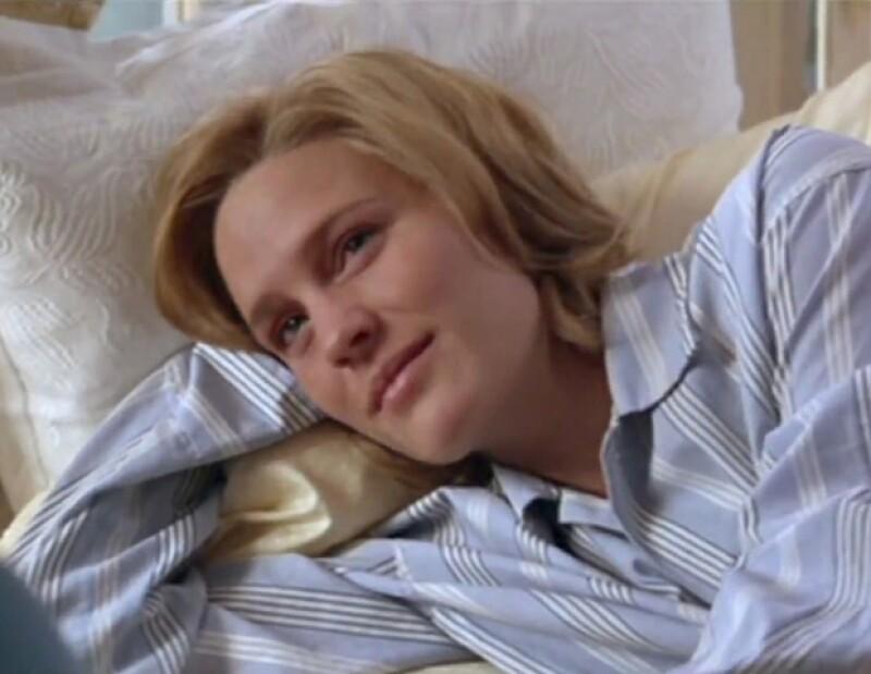 Robin Wright en una escena de Forrest Gump.