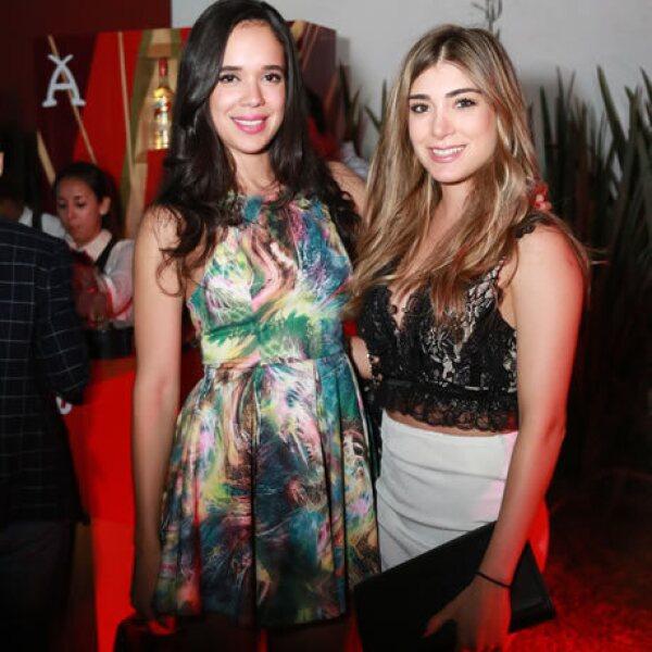 Alida Gutiérrez y Carla Romero