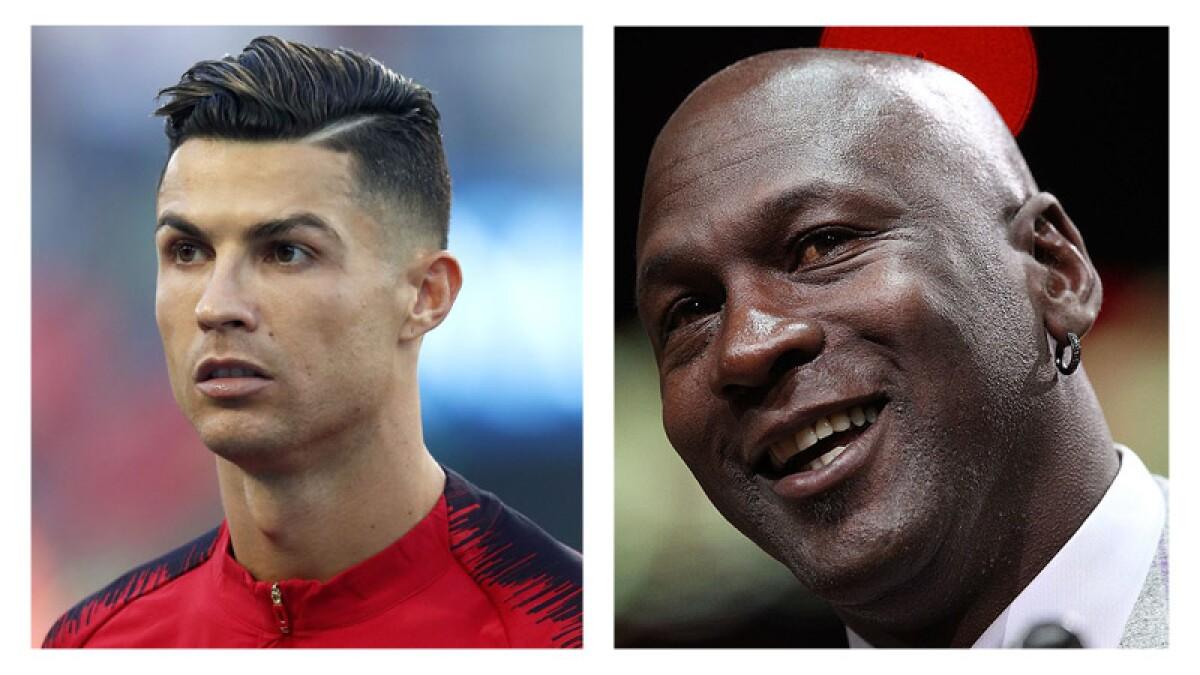 Cristiano Ronaldo y Michael Jordan se vuelven virales en Instagram