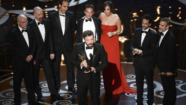 `Argo´ ganó en la categoría de Mejor Película. A Ben Affleck durante su discurso se le fue la voz de la emoción.
