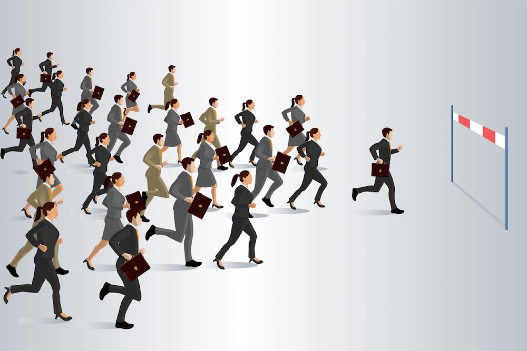 Profesionistas - corredores - correr - carrera profesional - maratón - directivos - directores - ejecutivos