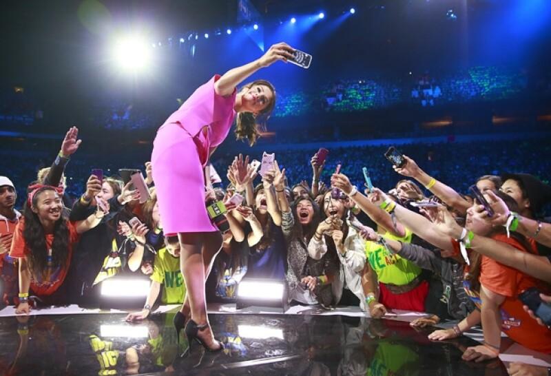 Selena tuvo una ovacionada participación en el festival dedicado a la juventud en Estados Unidos y Canadá en el que participaron más famosos.