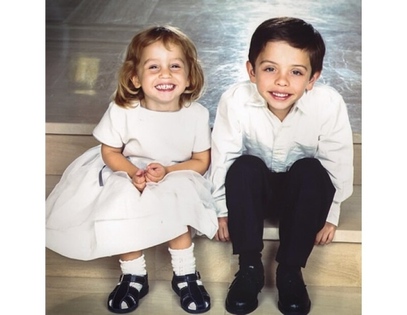 Rania aprovecha los Throwback Thursdays para subir a Instagram fotos de sus hijos cuando eran más pequeños. Esta imagen es de 1999.