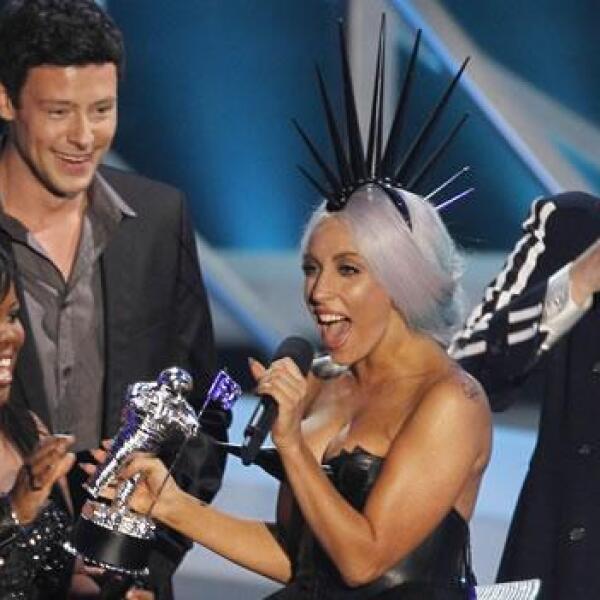 lady gaga MTV 2010