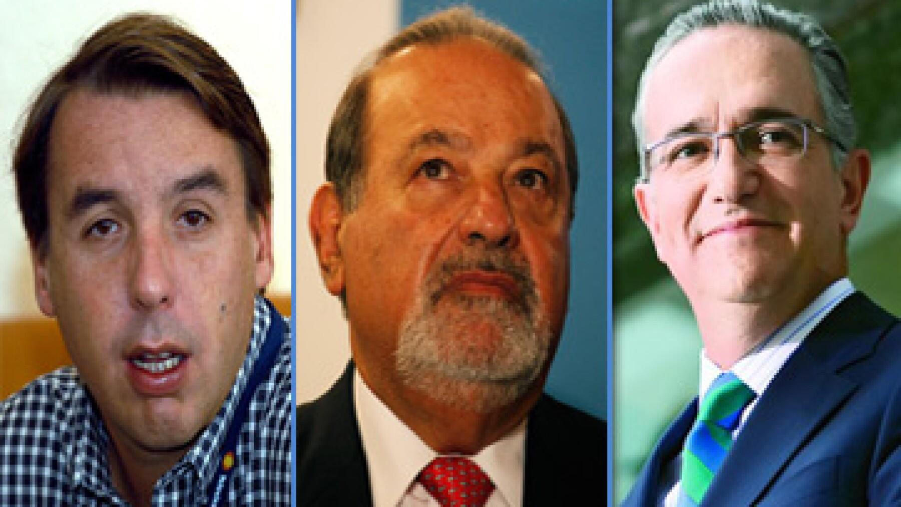 La 'batalla por las telecomunicaciones' que se dio entre los magnates dueños de Televisa y de TV Azteca, contra el dueño de Telmex, dio pie a numerosas primeras planas. (Foto: Especial)