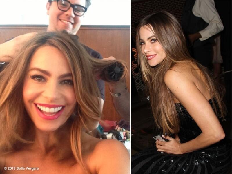Después de años, la actriz decidió dejar en el pasado su larga cabellera para dar paso a un nuevo estilo de pelo corto y alborotado.