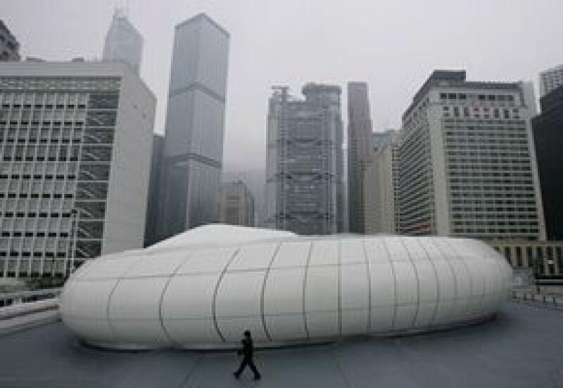 """El """"contenedor"""" mide 29 metros de ancho, 45 de largo y seis de alto."""