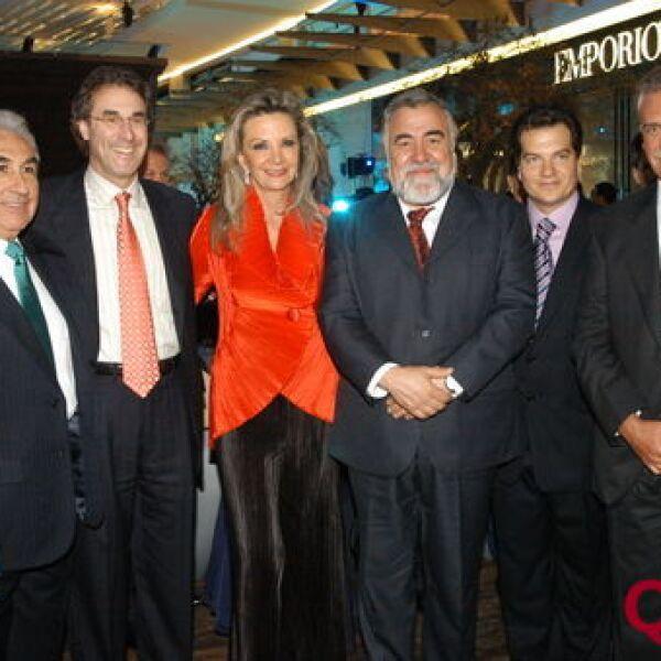 Gabriel Alarcón, Ira Schulman, Georgina Diez Barroso,  Alejandro Encinas, Miguel Alemán, Abraham Franklin