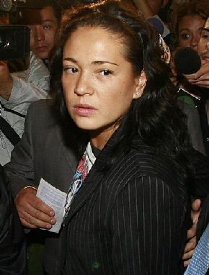 La conductora esta muy molesta con el cantante por haber golpeado a Verónica Castro.
