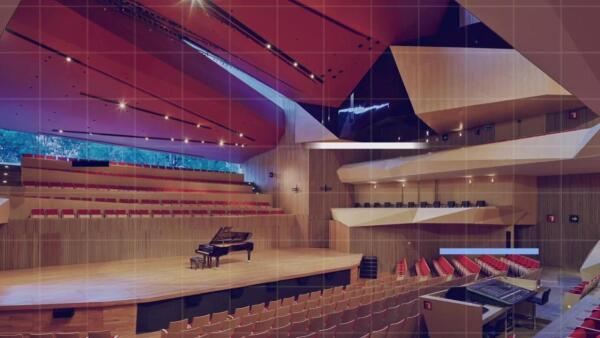 El diseño del Centro Cultural Roberto Cantoral se inspiró en un pentagrama