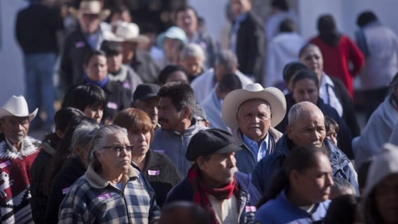 ancianos adultos mayores México