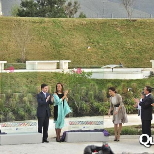 Inauguración del Paseo de la Mujer