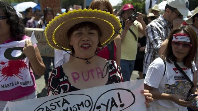 Resultado de imagen para marcha de las putas mexico